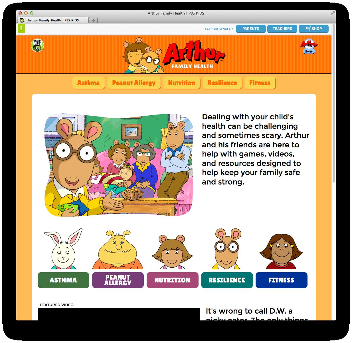 Arthur Health New Site Digital Things