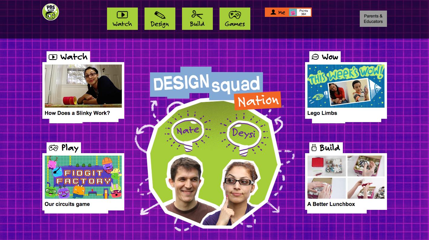Design Squad Website >> Design Squad Redesign Wgbh Digital Kids